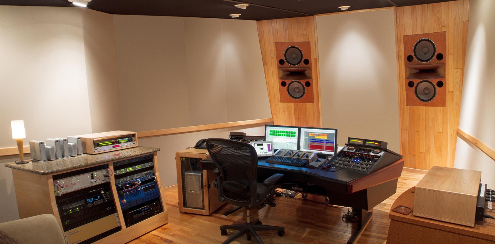 Studio Design by Tom Hidley - Tommy Dorsey Mastering